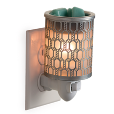 Candle Warmers Filigree Pluggable Fragrance Warmer