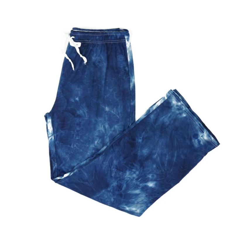 Hello Mello Hello Mello Dyes the Limit Pant - Navy Blue - S/M