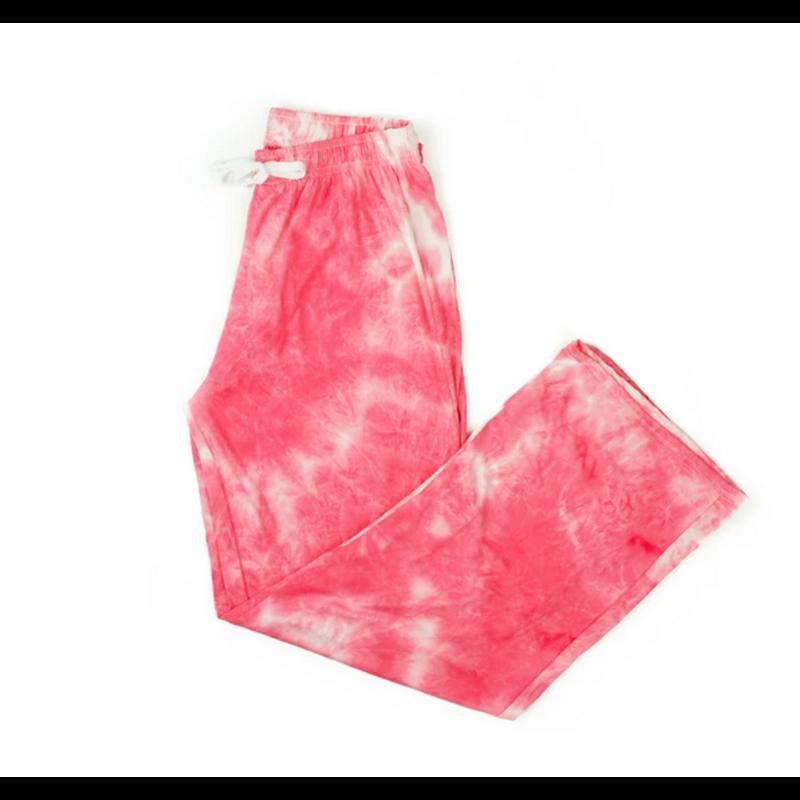 Hello Mello Dyes the Limit Pant - Coral - S/M