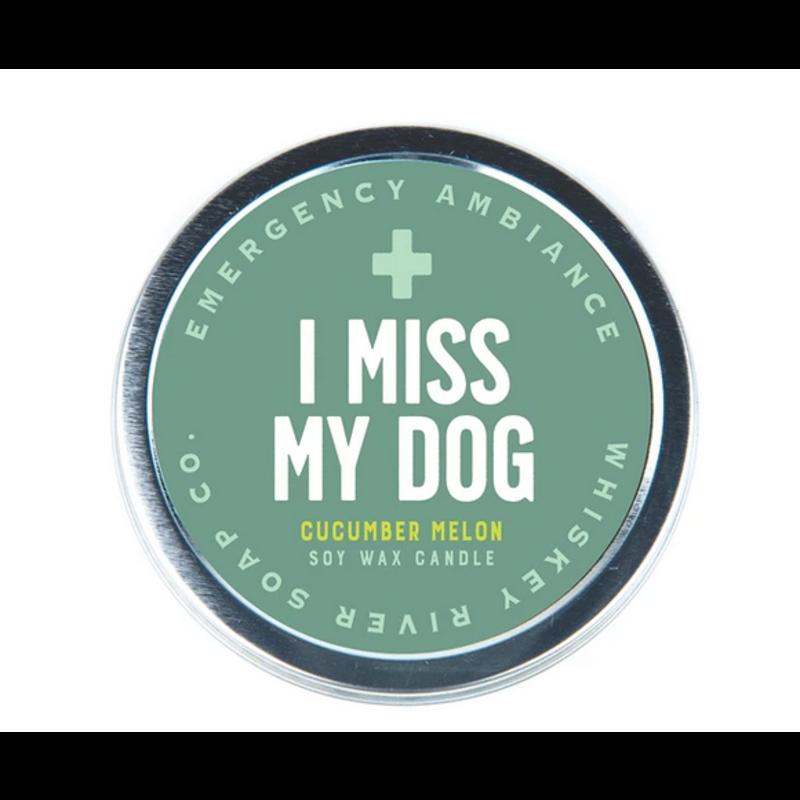 I Miss My Dog- Tin Candle
