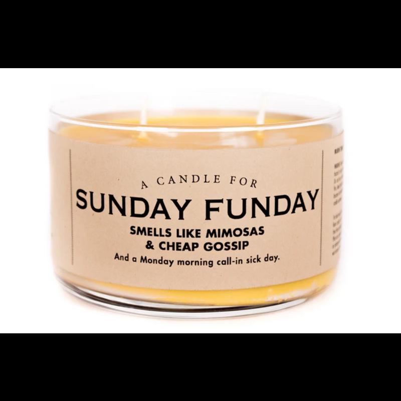 Whiskey River Soap Co. Sunday Funday-Candle