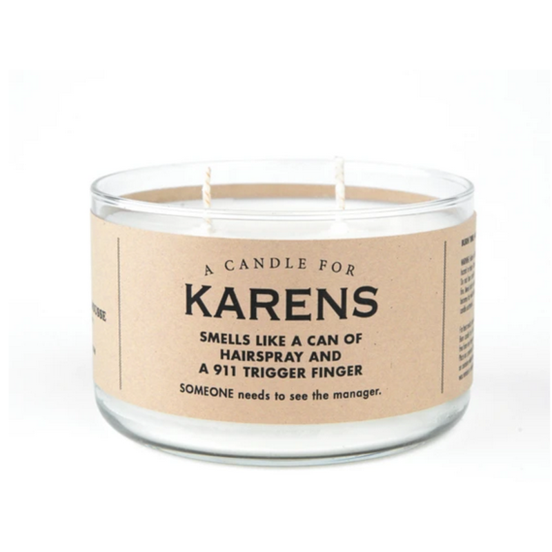 Whiskey River Soap Co. Karens - Candle