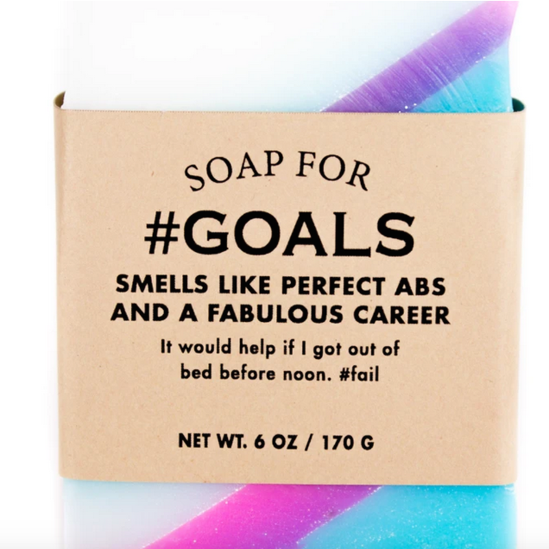 Whiskey River Soap Co. Goals - Soap