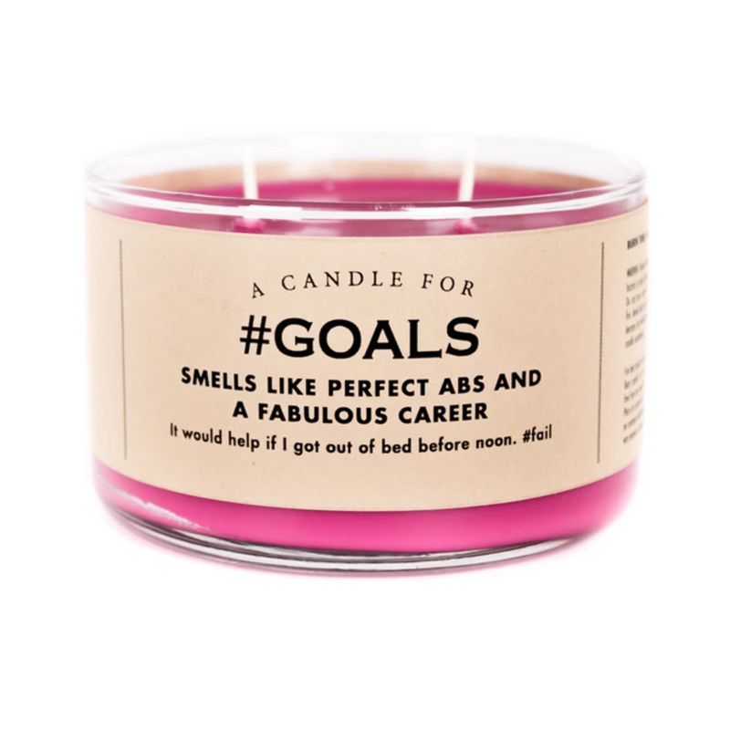 Whiskey River Soap Co. Goals - Candle