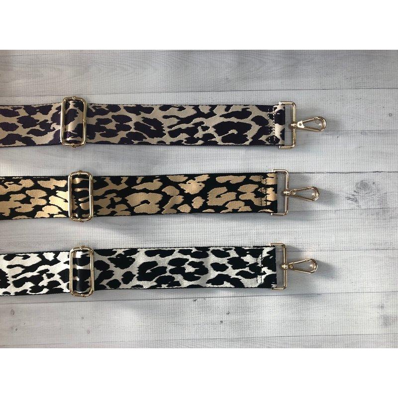 Ahdorned Leopard Adjustable Bag Strap
