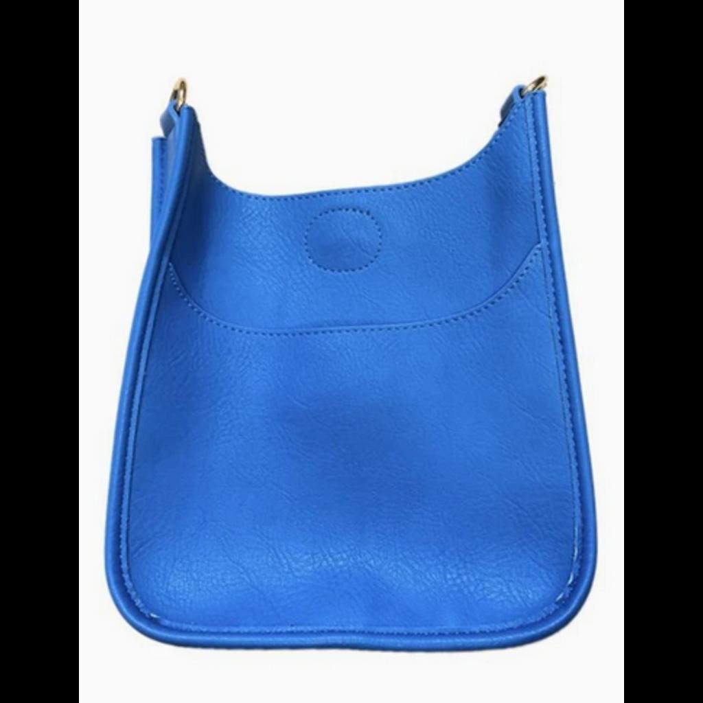 Ahdorned Ahdorned Mini Vegan Leather Messenger Bag - Royal Blue