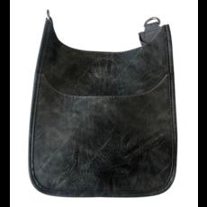 Ahdorned Ahdorned Mini Vegan Leather Messenger Bag - Grey