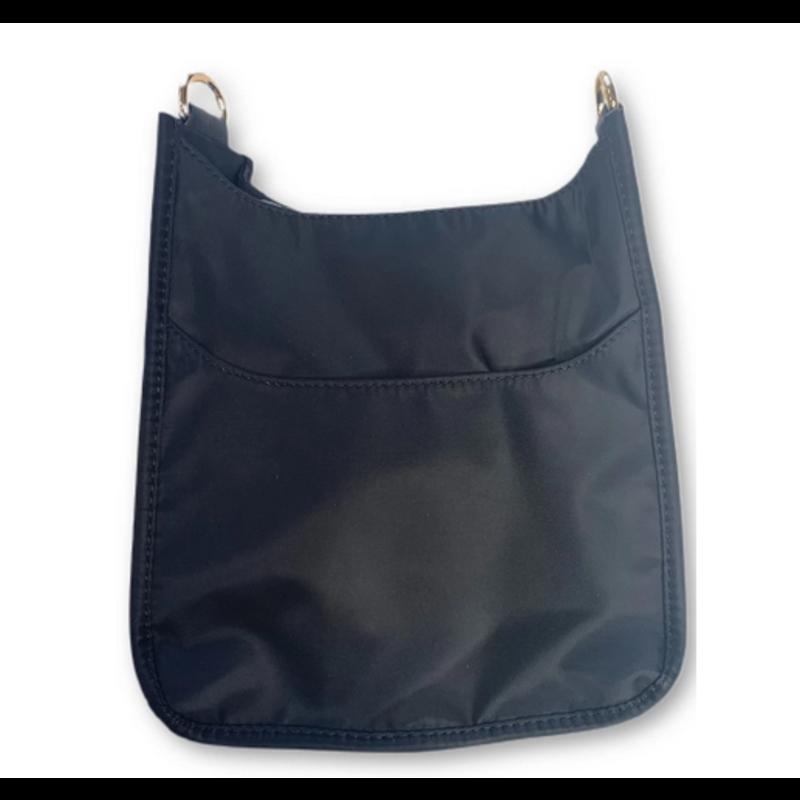 Ahdorned Ahdorned Mini Nylon Messenger Bag - Black