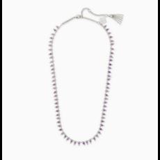 Kendra Scott Kendra Scott Jenna Strand Necklace  in Silver Purple Amethyst