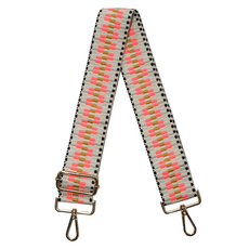 Ahdorned Ahdorned Embroidered Adjustable Bag Strap