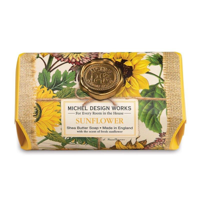 Michel Design Works Large Bath Soap - Sunflower
