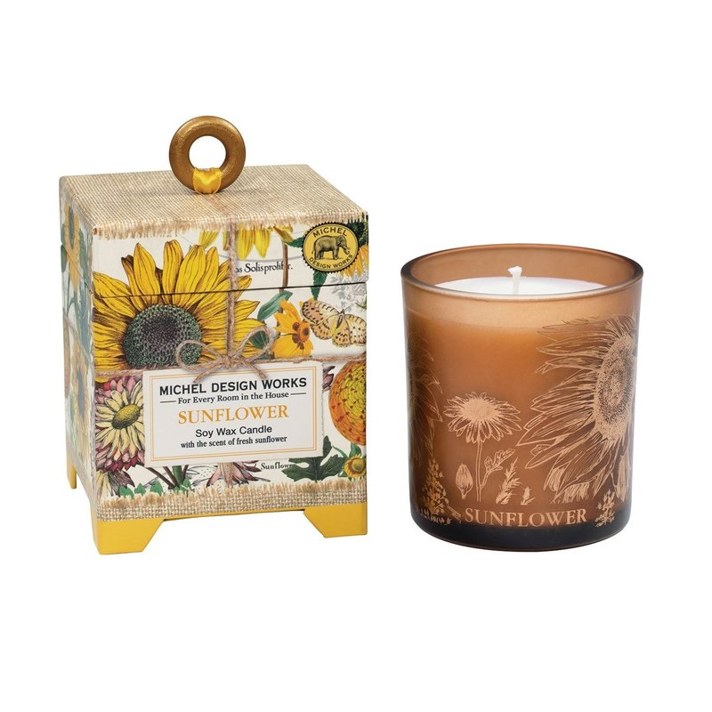 Michel Design Works Soy Wax Candle 6.5 oz - Sunflower