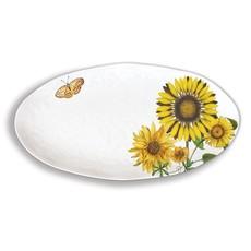 Michel Design Works Michel Design Works Melamine Oval Platter - Sunflower