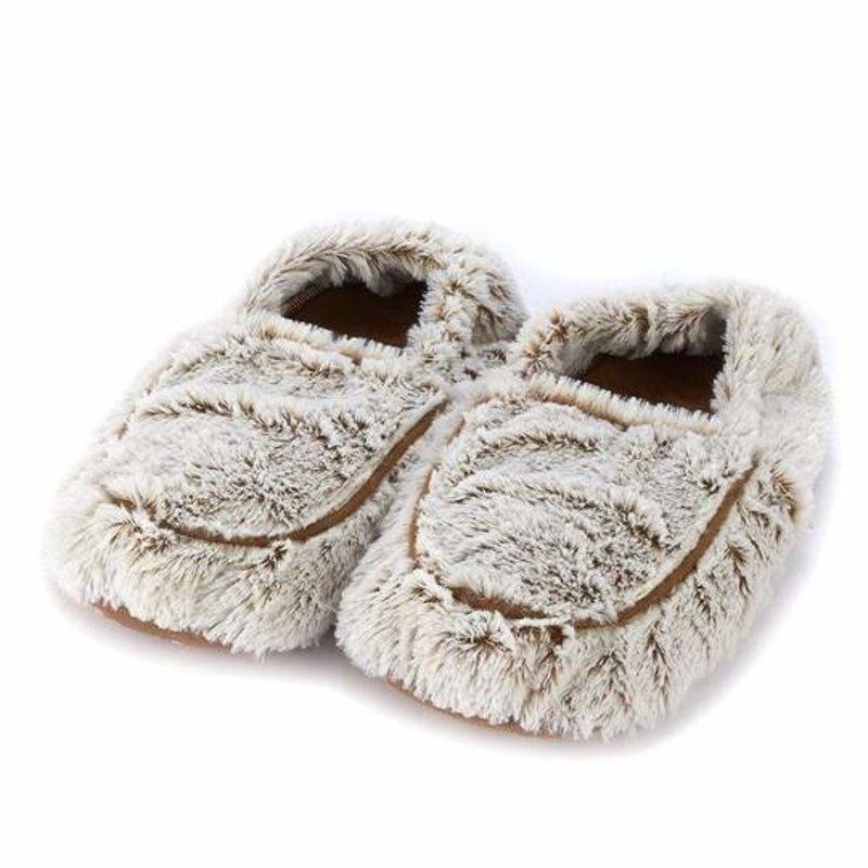 Warmies Warmies Marshmallow Brown Slippers