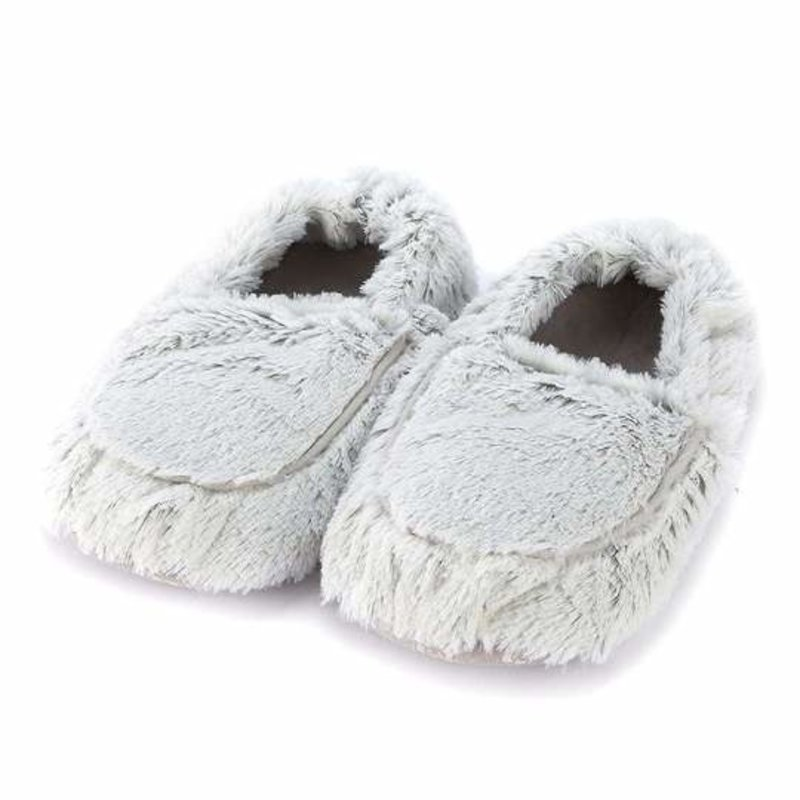 Warmies Marshmallow Gray Warmies Slippers