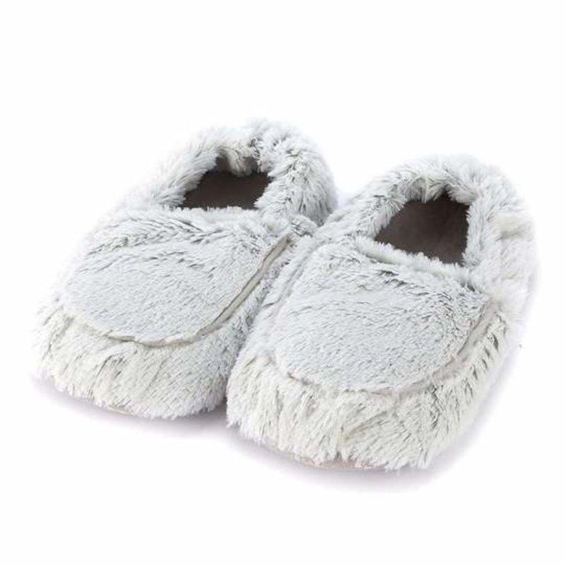 Warmies Warmies Marshmallow Gray Slippers