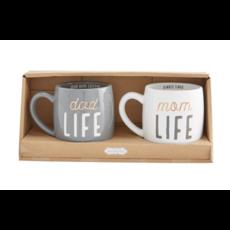 Mud Pie Mud Pie Parent Life Mug Set