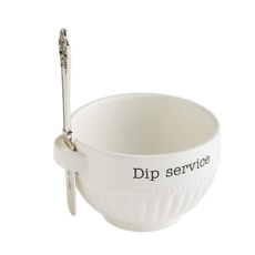 Mud Pie Mud Pie Dip Service Bowl Set