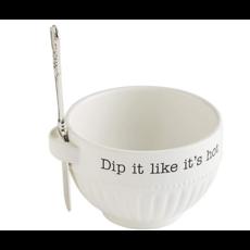 Mud Pie Mud Pie Dip It Hot Bowl Set