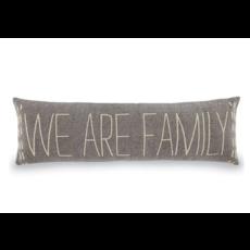 Mud Pie Mud Pie We Are Family Long Pillow