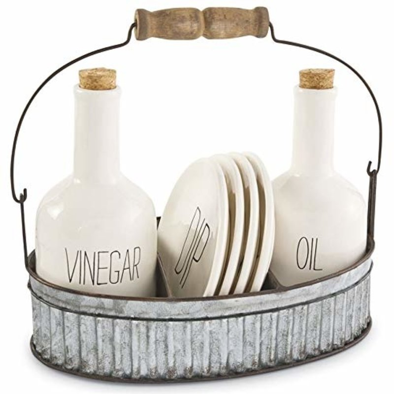 Mud Pie Oil and Vinegar Appetizer Set