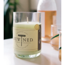 Bordeaux Blanc Rewined Candle