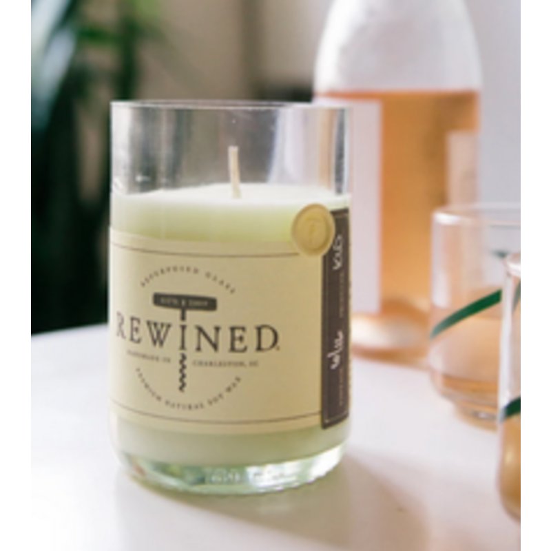Bordeaux Blanc Rewined Candle