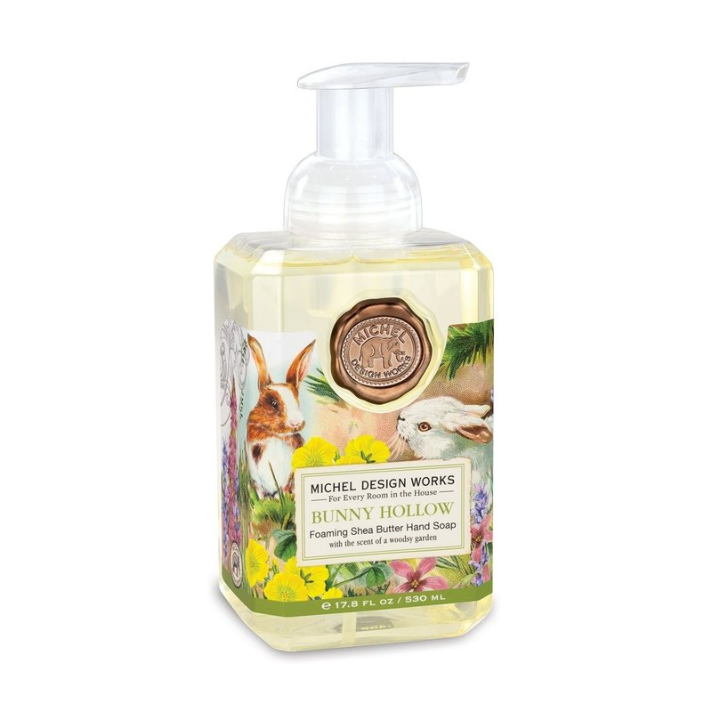 Michel Design Works Foaming Hand Soap- Bunny Hollow