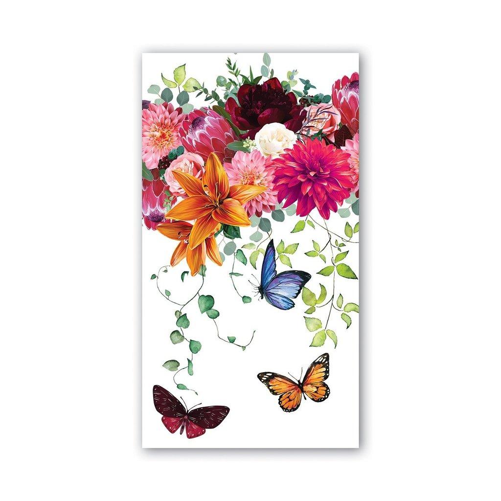 Michel Design Works Michel Design Works Hostess Napkins - Sweet Floral Melody
