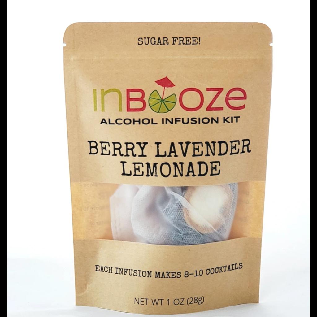 InBooze Berry Lavender Lemonade Cocktail Kit