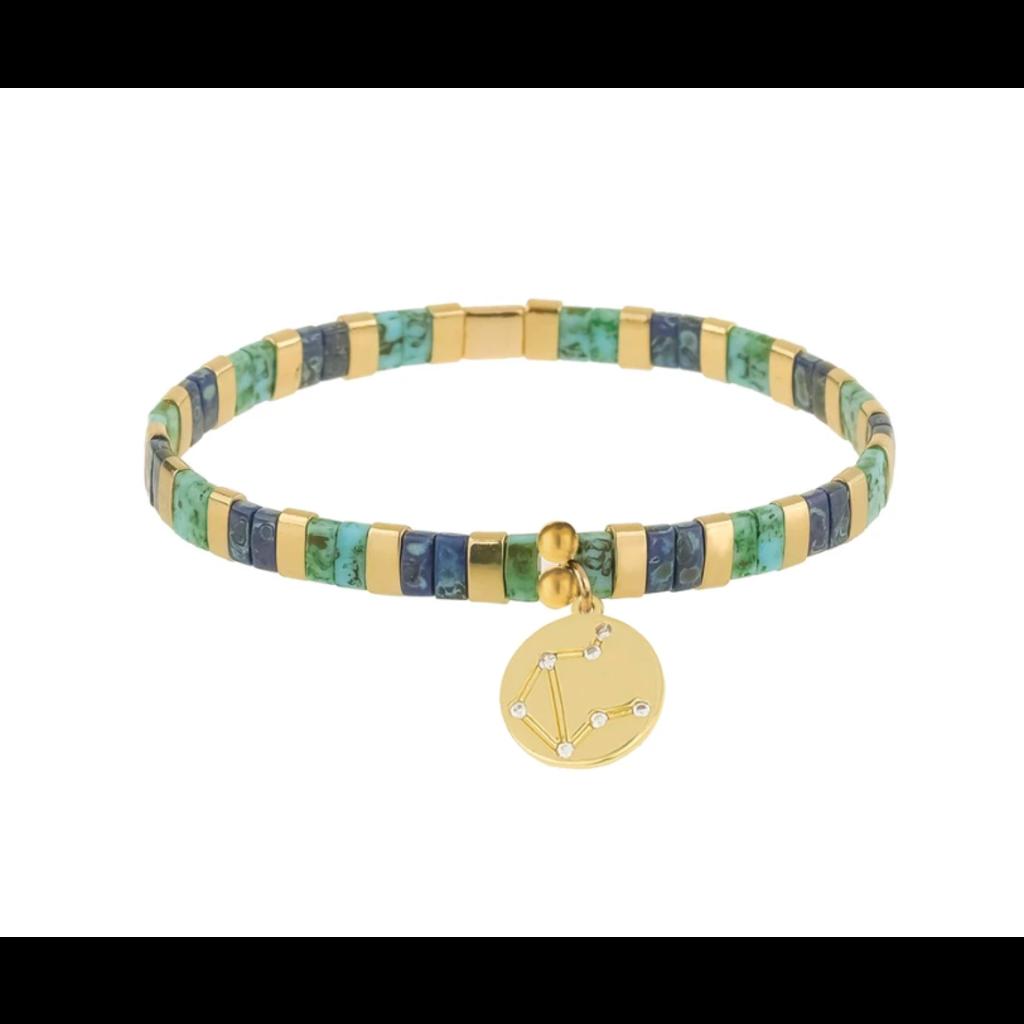 Skylar Paige Astrology Charm Bracelet- Libra