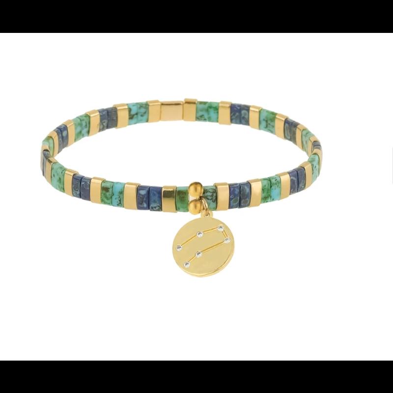 Skylar Paige Astrology Charm Bracelet - Gemini