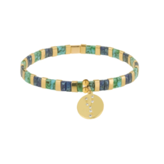 Skylar Paige Astrology Charm Bracelet - Taurus