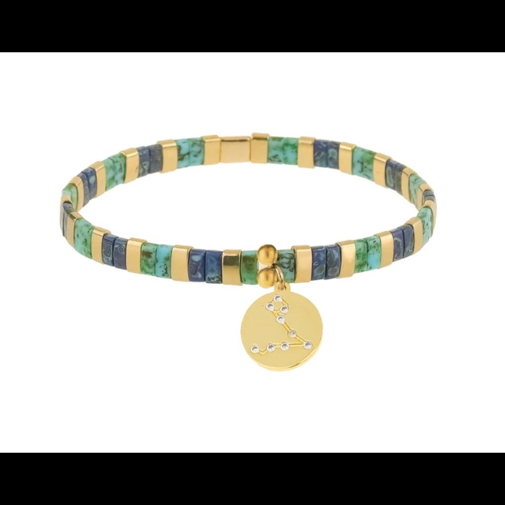 Skylar Paige Astrology Charm Bracelet - Pisces