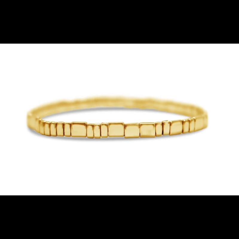 Skylar Paige Self Love Bracelet - Golden Gratitude