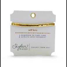 Skylar Paige Skylar Paige Self Love Bracelet - Golden Gratitude