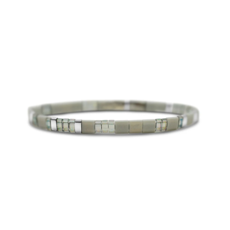 Skylar Paige Self Love Bracelet - Gracious Grey
