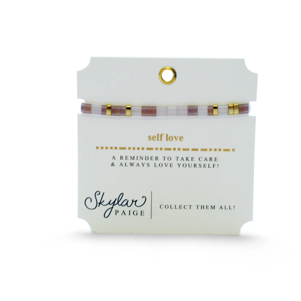 Skylar Paige Self Love Bracelet - Liberated Lavender