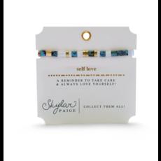 Skylar Paige Self Love Bracelet - Take Care Turquoise