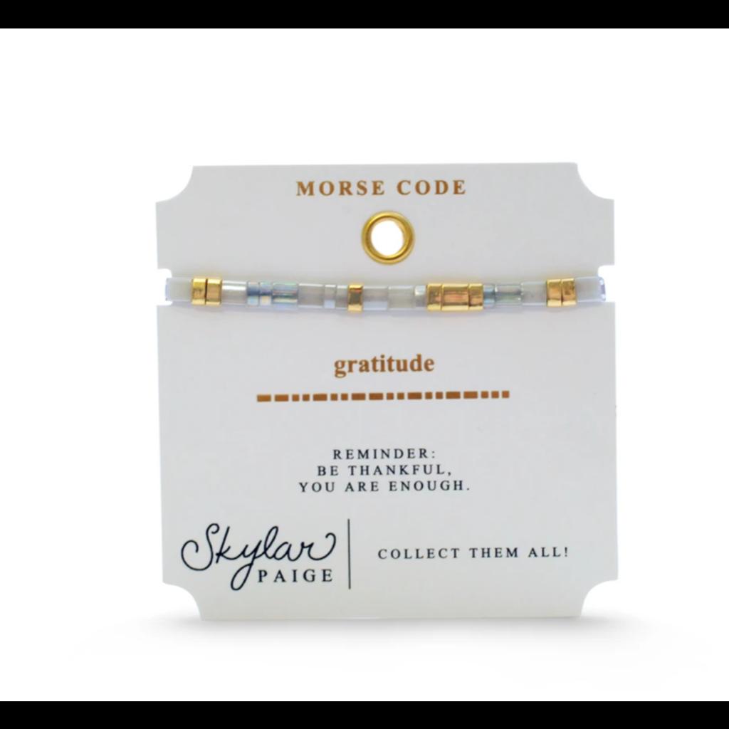 Skylar Paige Gratitude Bracelet - Marvelous Metallic