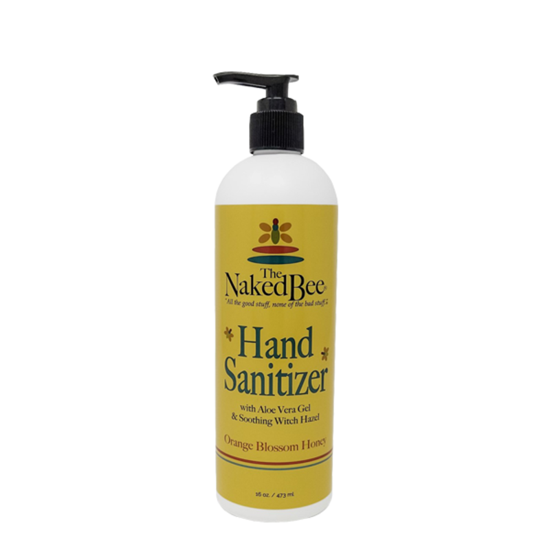 The Naked Bee Hand Sanitizer 16 oz  - Orange Blossom Honey