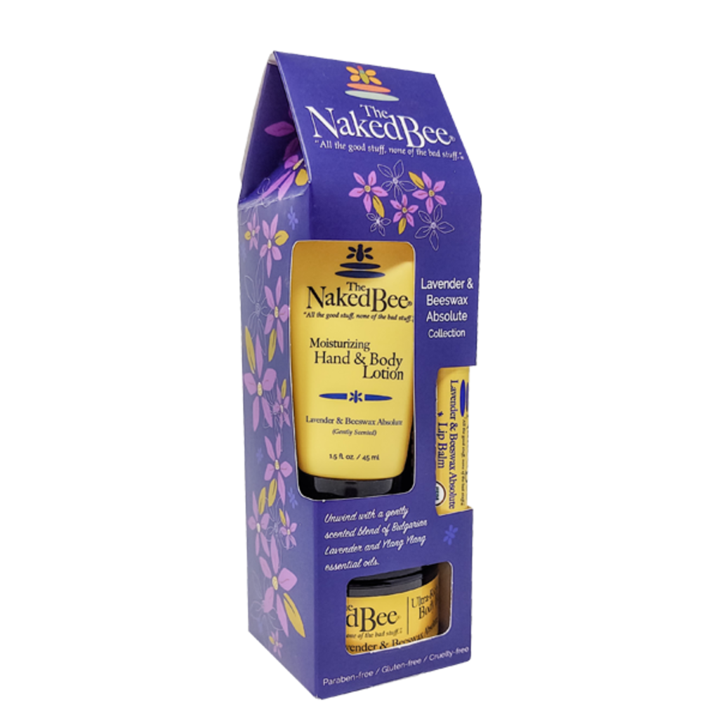 The Naked Bee The Naked Bee Lavender & Beeswax Absolute  Gift Collection