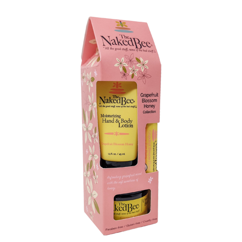 The Naked Bee Grapefruit Blossom Honey Gift Collection