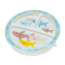 ORE Original Divided Suction Plate Smiley Shark
