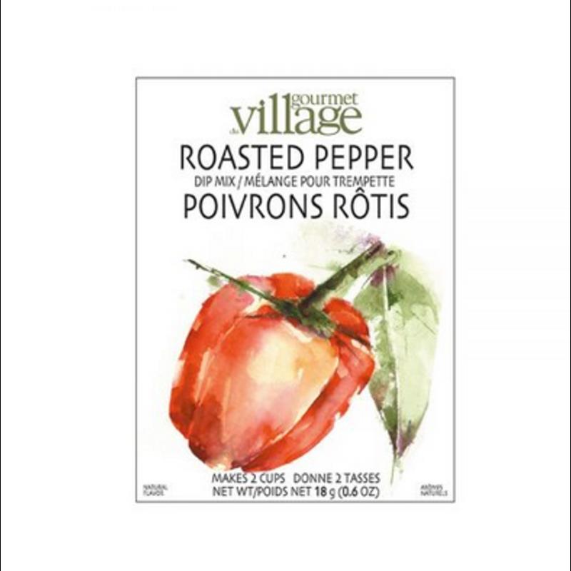 Gourmet Du Village Roasted Pepper Dip