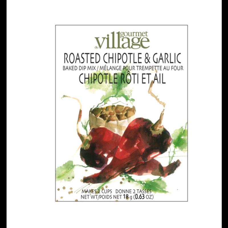 Gourmet Du Village Roasted Chipotle & Garlic Dip