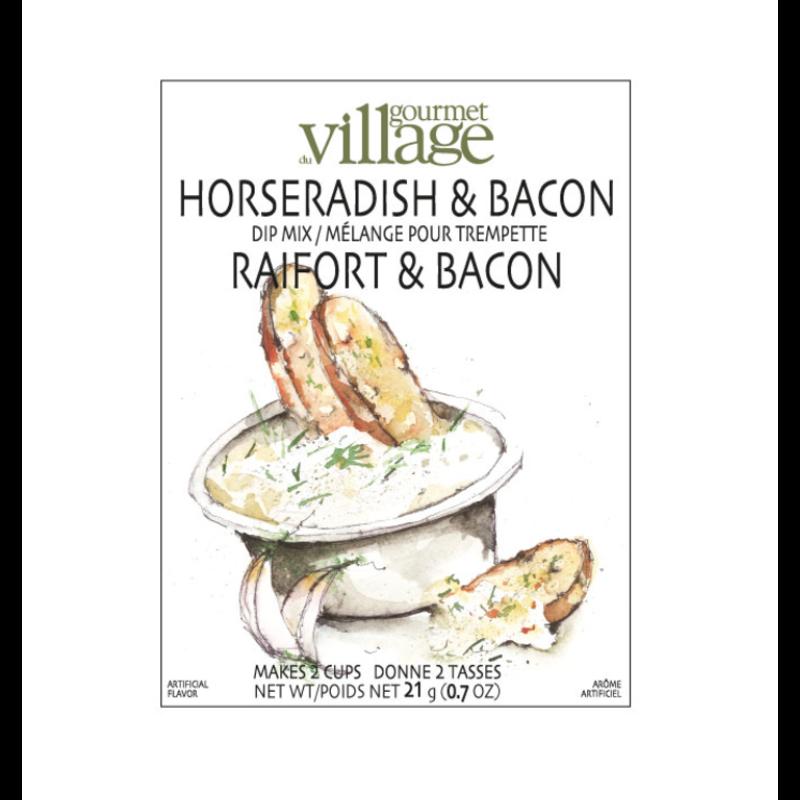 Gourmet Du Village Horseradish & Bacon Dip