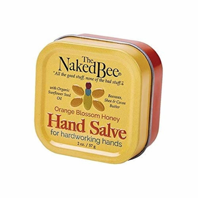 The Naked Bee Honey Hand Salve 1.5 oz. - Orange Blossom Honey
