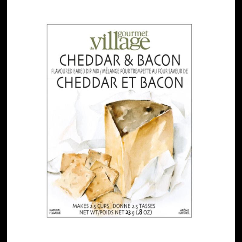 Gourmet Du Village Cheddar & Bacon Dip