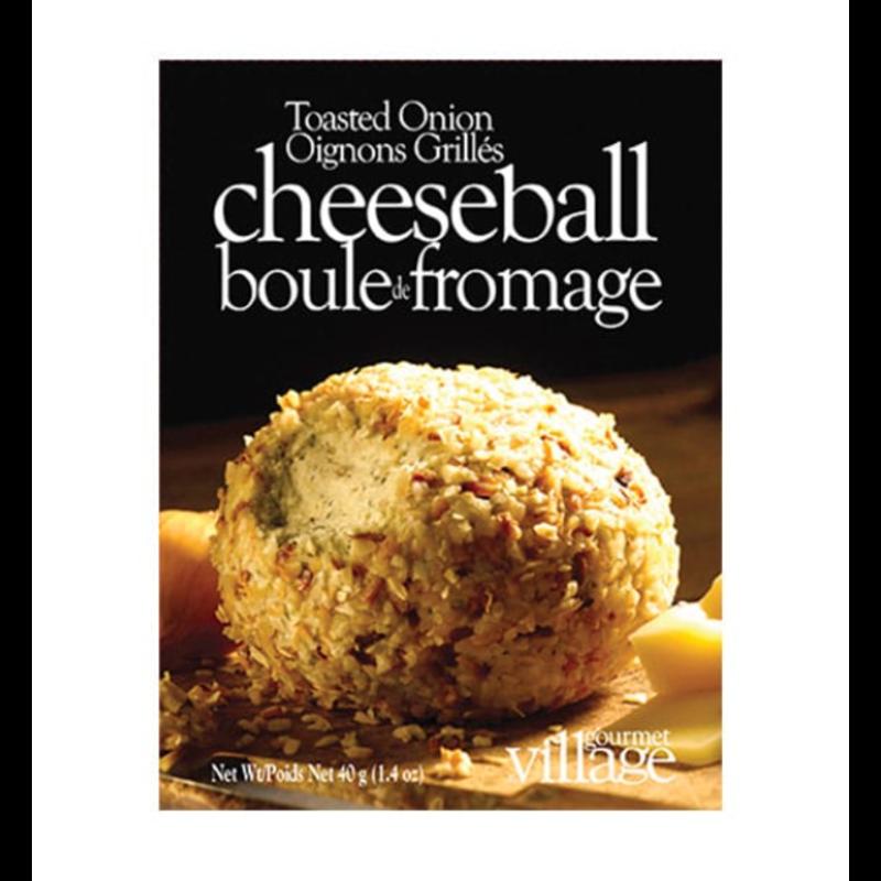 Gourmet Du Village Toasted Onion Cheeseball